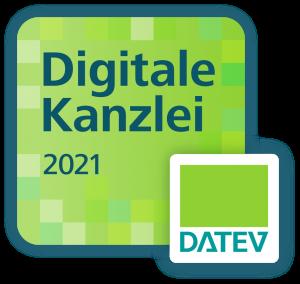 Als Digitale Kanzlei 2021 von DATEV ausgezeichnet